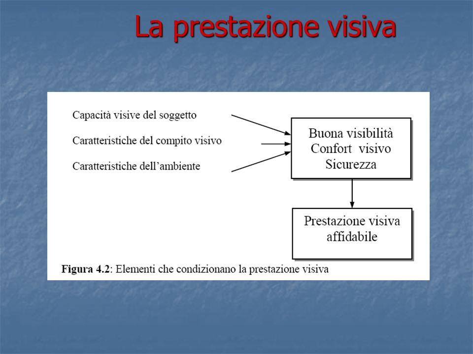 La prestazione visiva