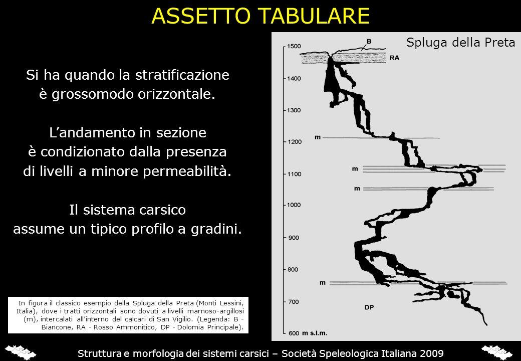 Si ha quando la stratificazione è grossomodo orizzontale. Landamento in sezione è condizionato dalla presenza di livelli a minore permeabilità. Il sis