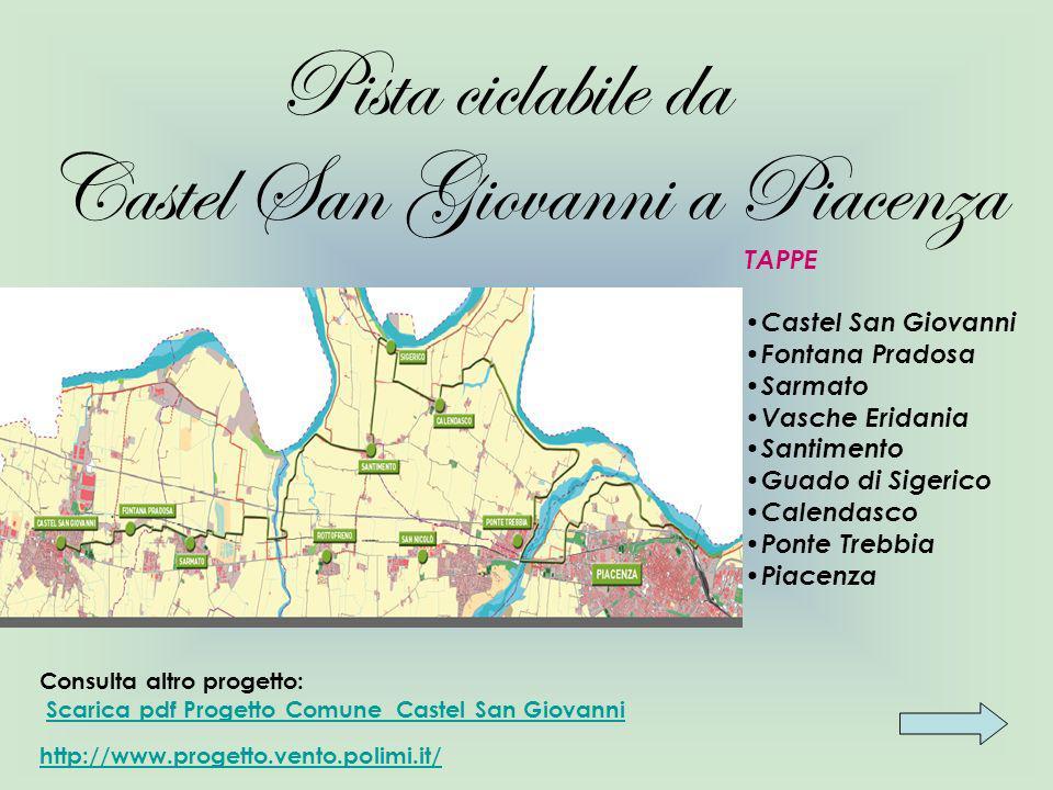 Ricettività Dove dormire a: Castel San Giovanni: Hotel Rizzi: Via Borgonovo, 46 Tel.