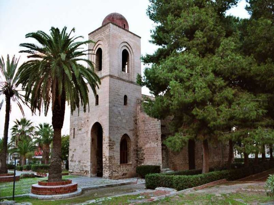 CHIESA SAN GIOVANNI DEI LEBBROSI Risalente al 1071, è una delle prime chiese normanne, è stata edificata mentre Ruggero e Roberto il Guiscardo assedia