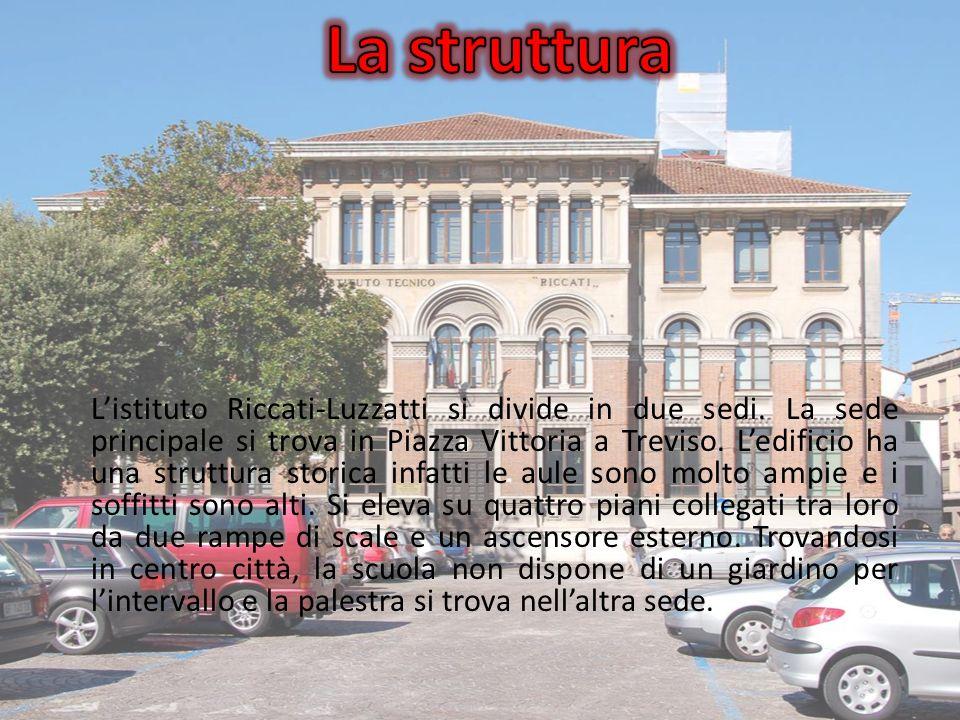 Listituto Riccati-Luzzatti si divide in due sedi.