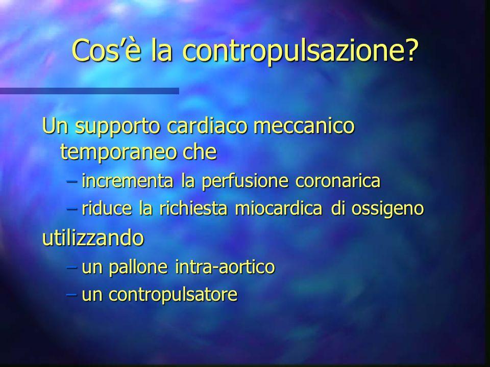 Presentazione Contropulsazione Cos� la contropulsazione? Un ...