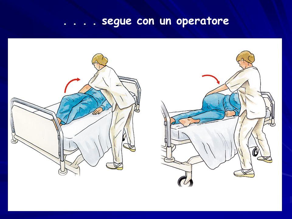 .... segue con un operatore