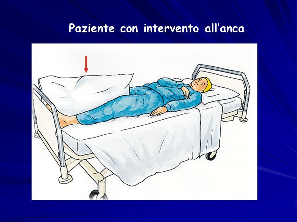 Paziente con intervento allanca