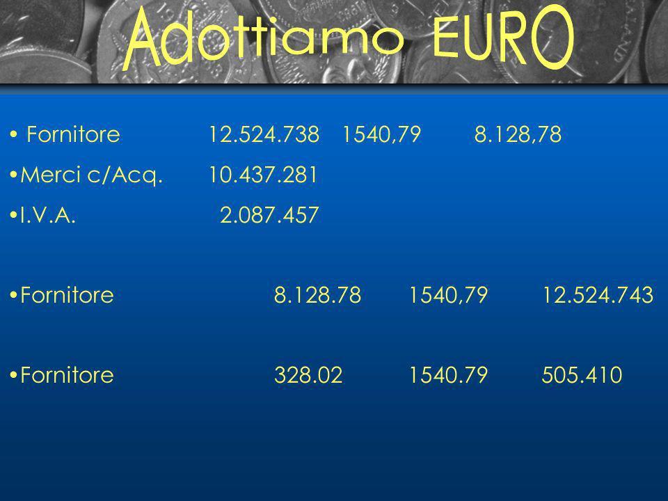 Fornitore12.524.7381540,798.128,78 Merci c/Acq.10.437.281 I.V.A.