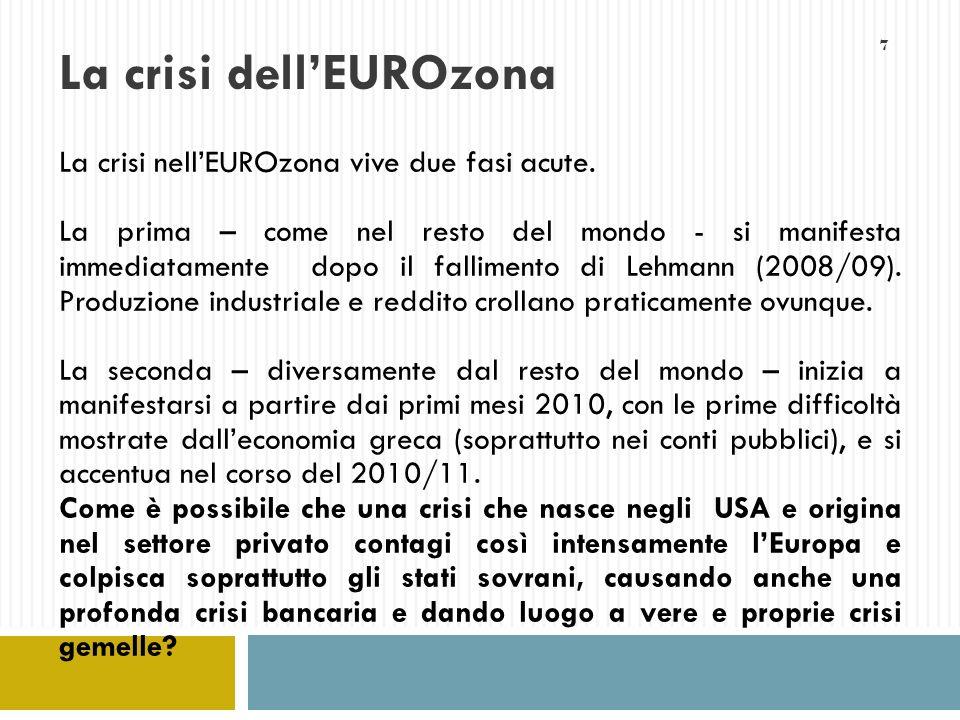 28 Unione fiscale (non Unione dei trasferimenti) Unione fiscale verrebbe realizzata attraverso costituzione di un robusto bilancio federale, mediante opportuna dotazione di entrate fiscali.