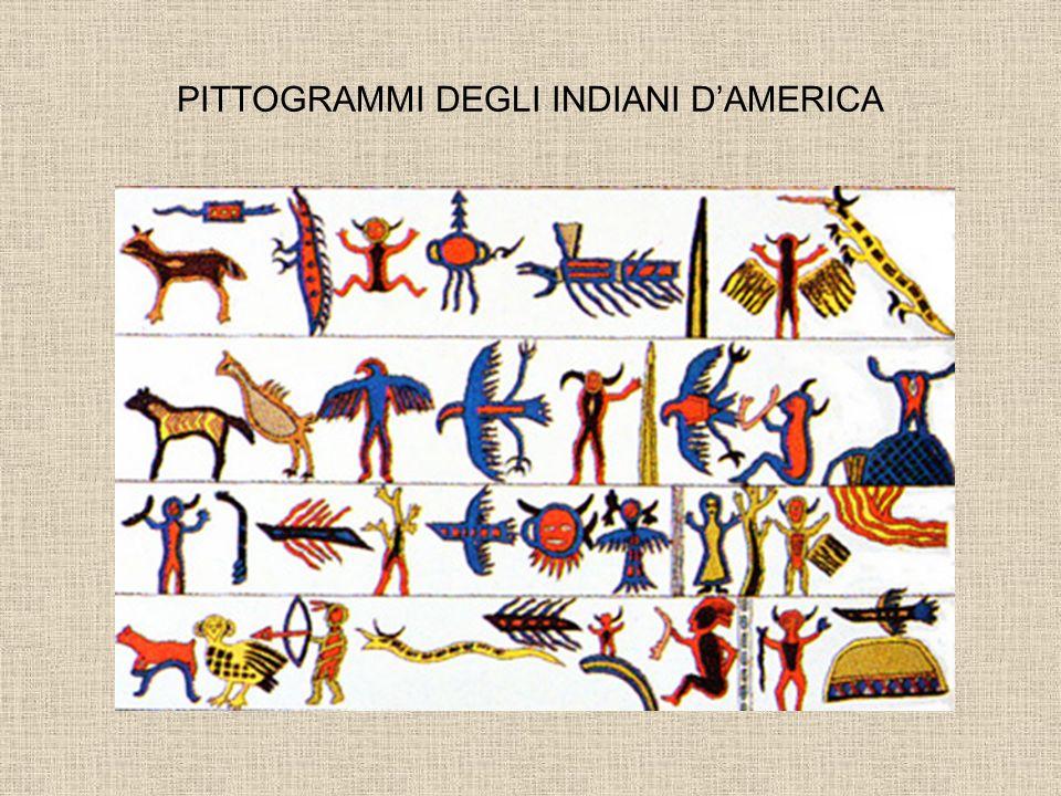 PITTOGRAMMI DEGLI INDIANI DAMERICA