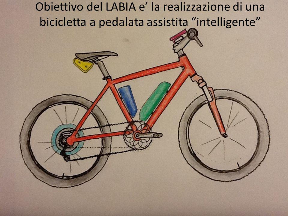 Obiettivo del LABIA e la realizzazione di una bicicletta a pedalata assistita intelligente