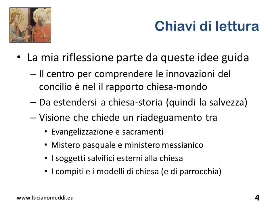 2.La complessità del rinnovamento ecclesiale 5.