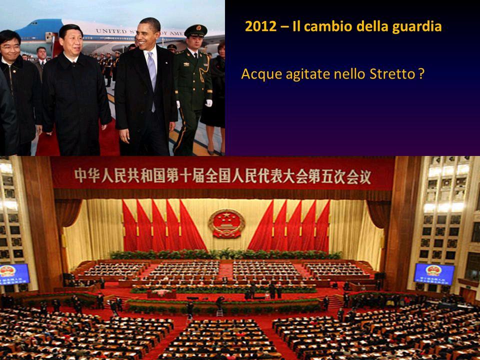 2012 – Il cambio della guardia Acque agitate nello Stretto ?