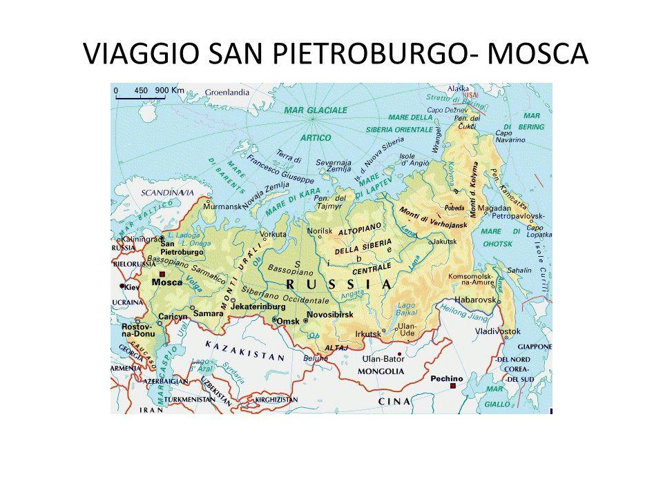 VIAGGIO SAN PIETROBURGO- MOSCA