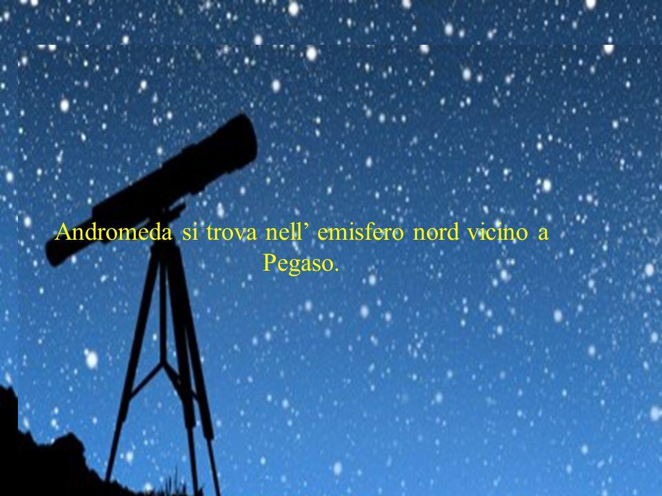 Andromeda è una costellazione rappresentante la principessa Andromeda, che si trova nell'emisfero nord vicino a Pegaso. La costellazione ha la forma a