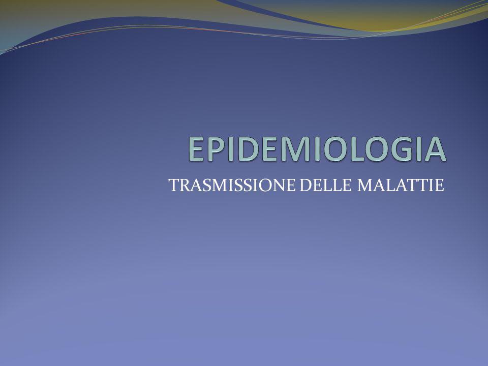 Come compare una malattia nella popolazione: Malattia Epidemica: è una malattia che colpisce in un breve periodo tutta la popolazione che abita in un territorio più o meno vasto.