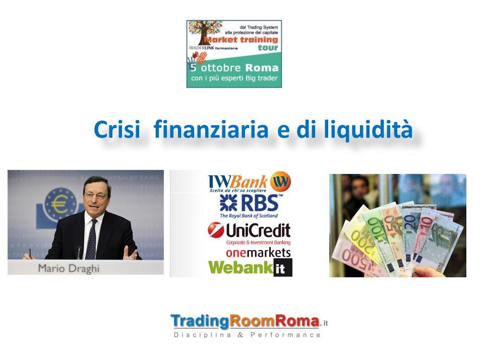 Crisi sistema finanziario