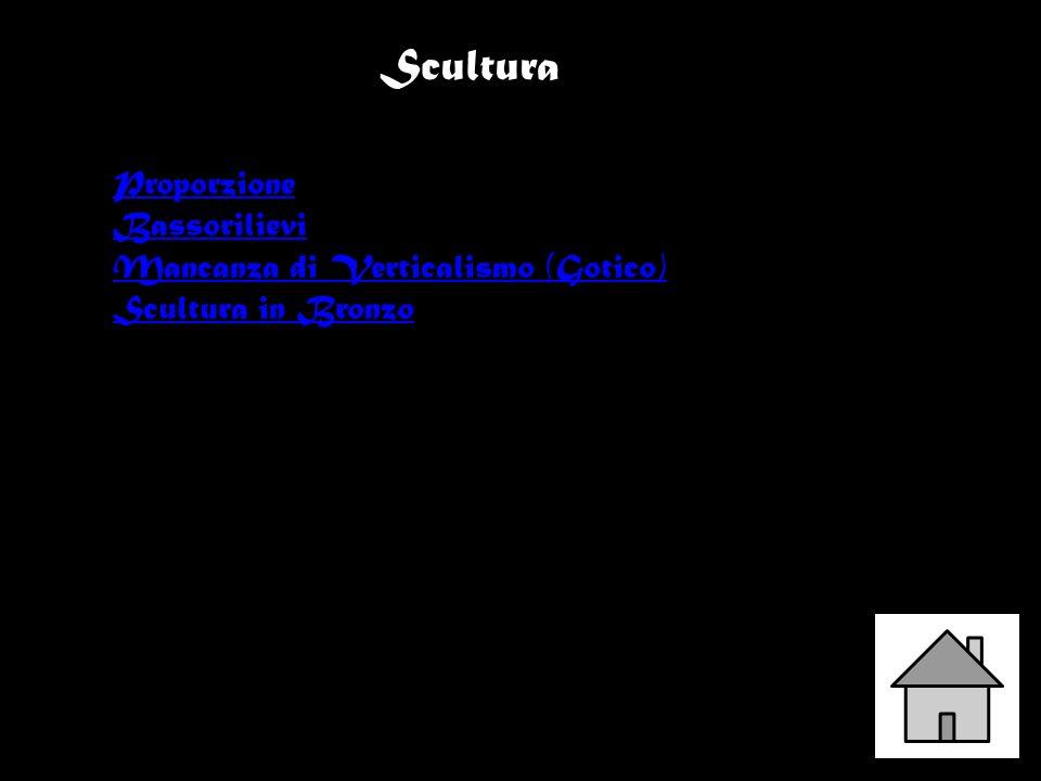 Scultura Proporzione Bassorilievi Mancanza di Verticalismo (Gotico) Scultura in Bronzo