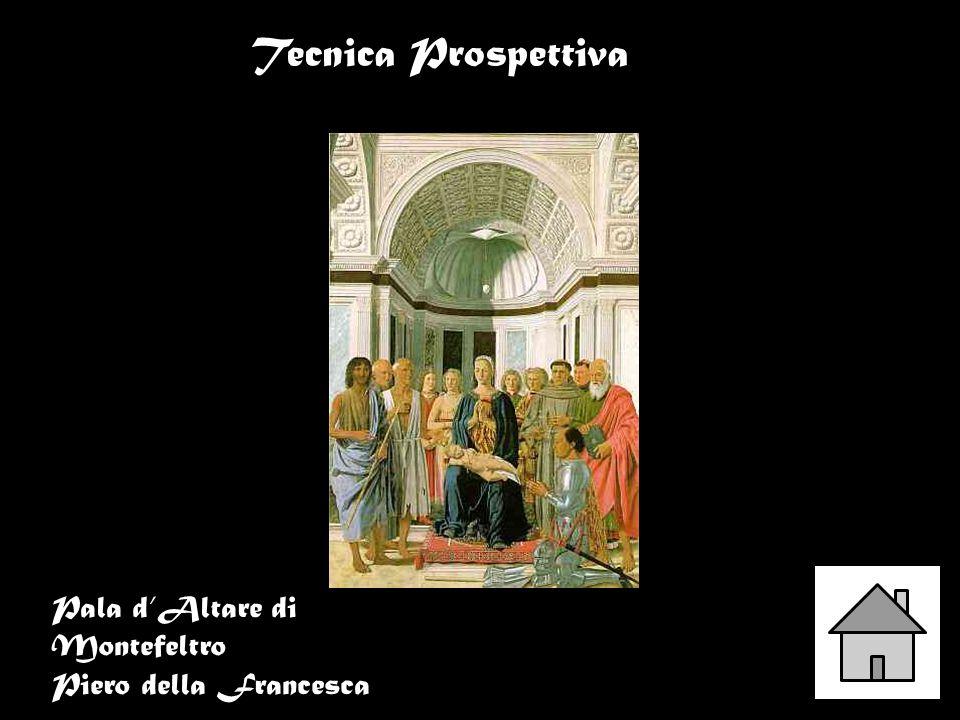 Pala dAltare di Montefeltro Piero della Francesca Tecnica Prospettiva