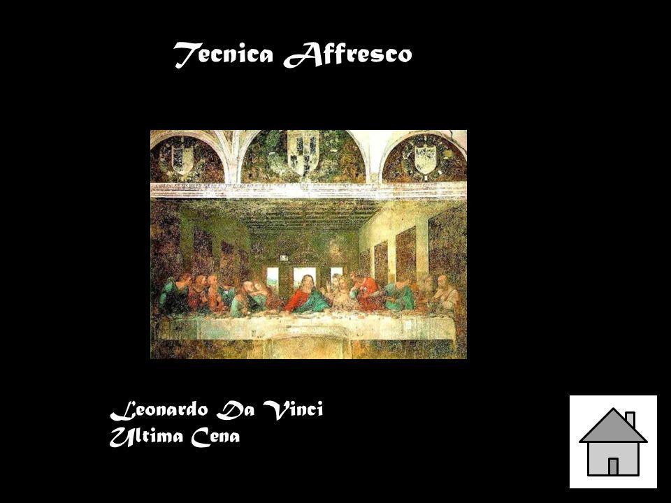Leonardo Da Vinci Ultima Cena Tecnica Affresco
