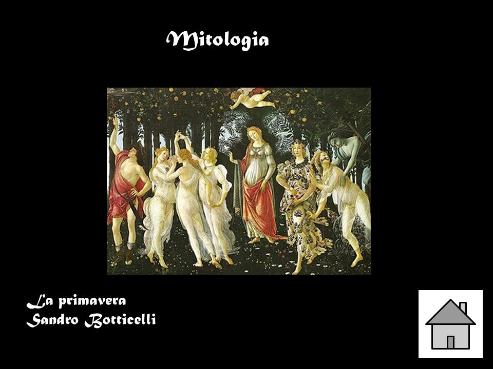 La primavera Sandro Botticelli Mitologia