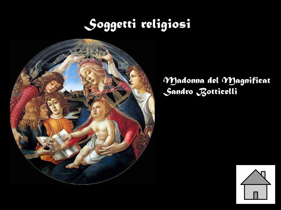 Soggetti religiosi Madonna del Magnificat Sandro Botticelli