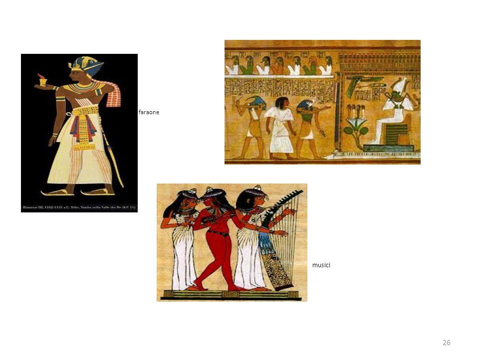 26 faraone musici