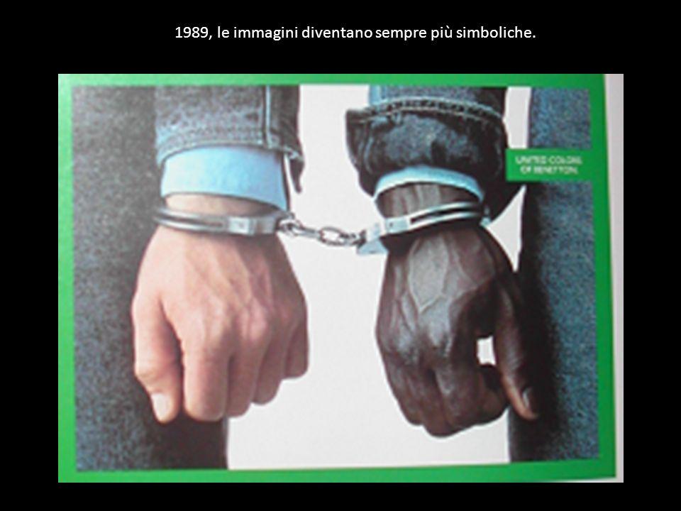 1989, le immagini diventano sempre più simboliche.