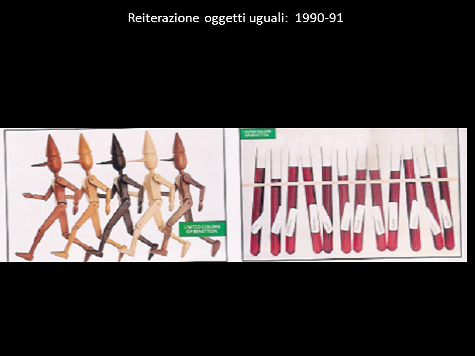 Reiterazione oggetti uguali: 1990-91