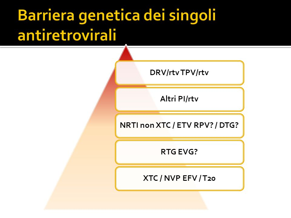DRV/rtv TPV/rtvAltri PI/rtvNRTI non XTC / ETV RPV? / DTG?RTG EVG?XTC / NVP EFV / T20