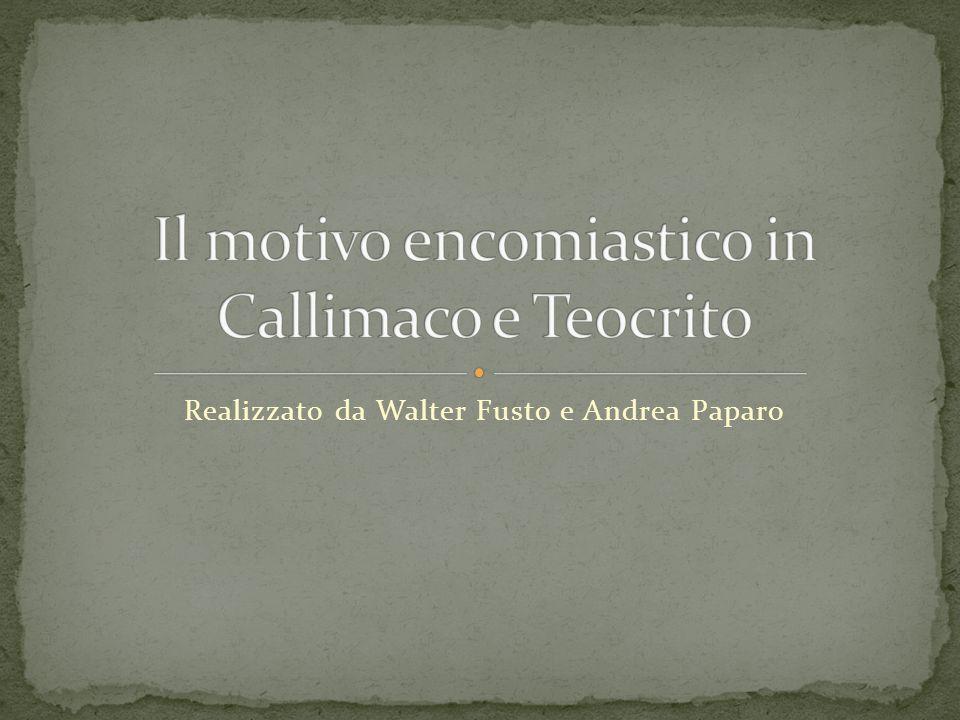 Realizzato da Walter Fusto e Andrea Paparo