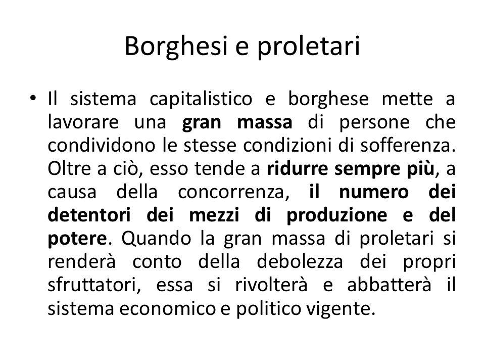 MARX: Il comunismo Il nuovo sistema sarà caratterizzato dalla proprietà comune e non privata dei mezzi di produzione (comunismo) cioè da un sistema economico più giusto dove i lavoratori si autoorganizzeranno per dirigere limpresa economica con lo scopo di servire ai loro bisogni.