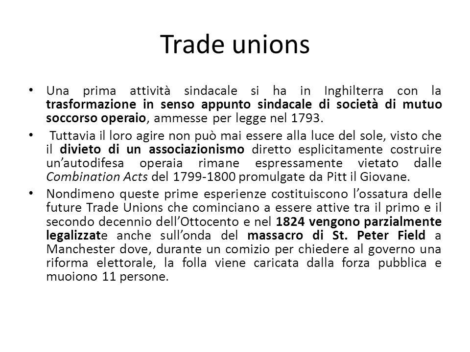 Gran National Consolidated Trades Union È il primo sindacato nazionale alla cui fondazione partecipa Robert Owen, saldando la riflessione teorica e lazione sindacale.