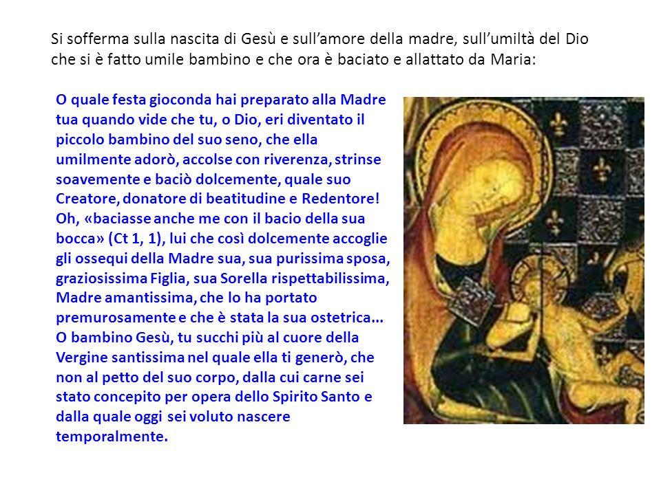 nato da Madre povera E Gesù è il fanciullo nato da Madre povera che diventa il modello di coloro che hanno iniziato il cammmino di conversione.