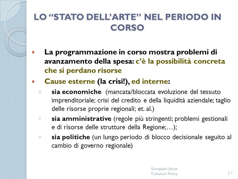 European Union Cohesion Policy 7 OPPORTUNITA PER LE AZIENZE AFFILIATE ANCE.