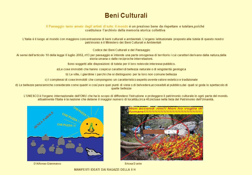 Beni Culturali LItalia è il luogo al mondo con maggiore concentrazione di beni culturali e ambientali. Lorgano istituzionale preposto alla tutela di q