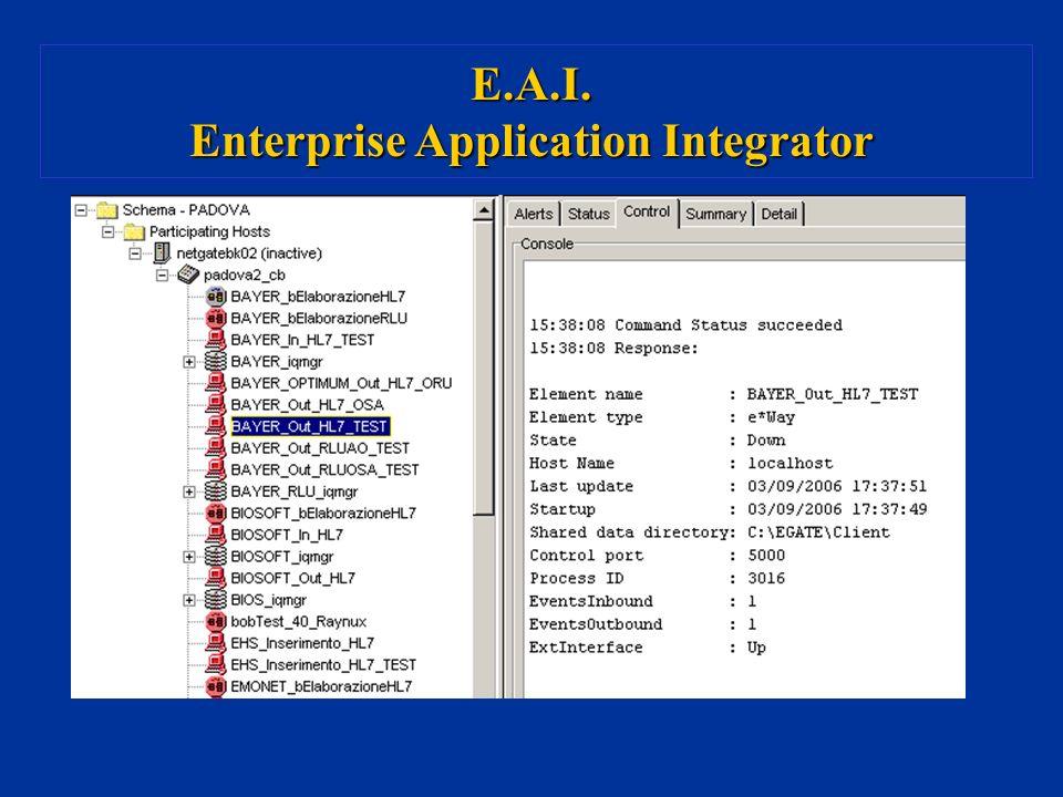 E.A.I. Enterprise Application Integrator