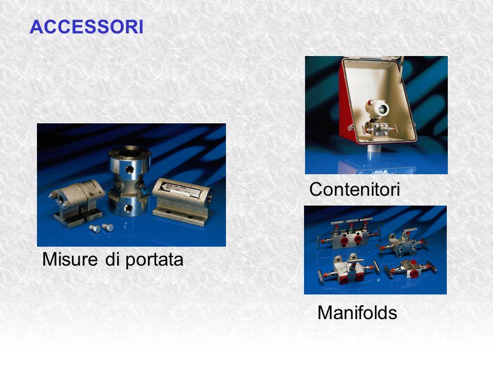 Misure di portata Manifolds ACCESSORI Contenitori