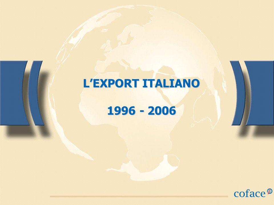 LEXPORT ITALIANO 1996 - 2006
