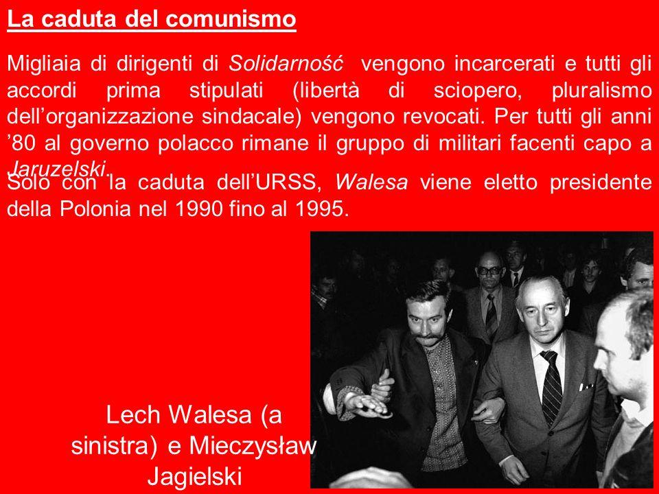 Migliaia di dirigenti di Solidarność vengono incarcerati e tutti gli accordi prima stipulati (libertà di sciopero, pluralismo dellorganizzazione sinda
