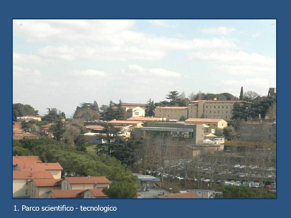1. Parco scientifico - tecnologico