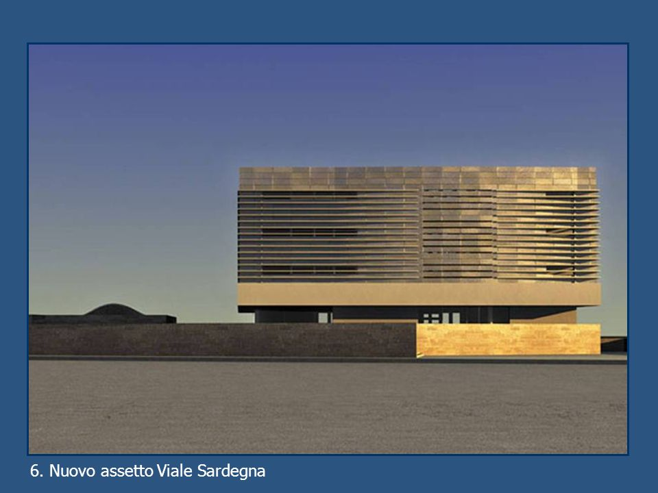 6. Nuovo assetto Viale Sardegna
