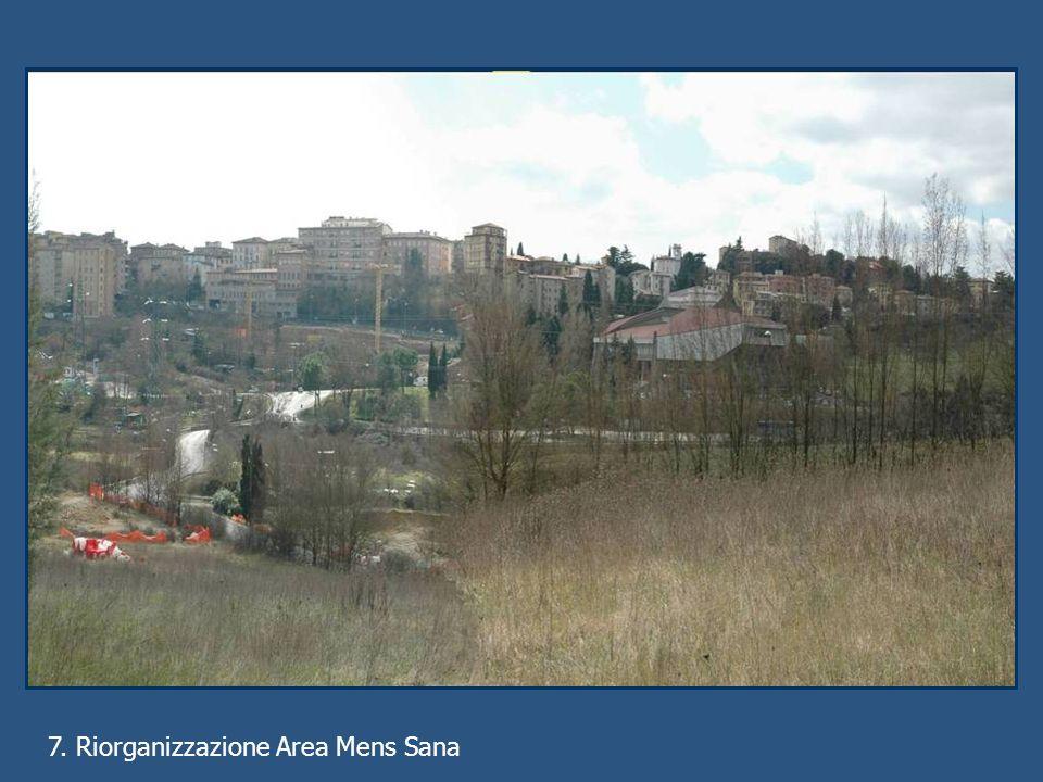7. Riorganizzazione Area Mens Sana