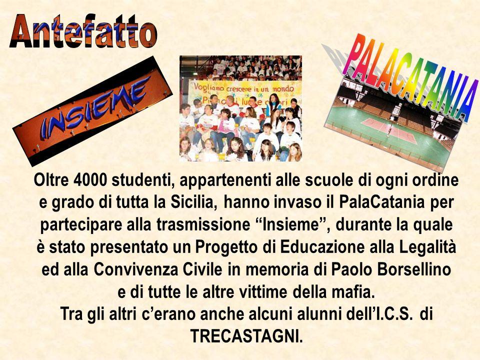 Oltre 4000 studenti, appartenenti alle scuole di ogni ordine e grado di tutta la Sicilia, hanno invaso il PalaCatania per partecipare alla trasmission