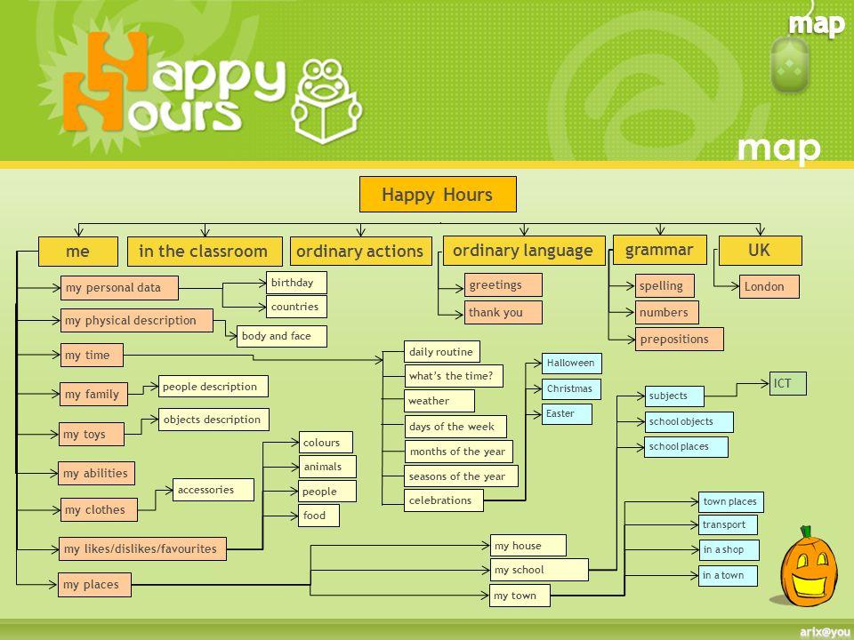 Happy Hours Allinterno clicca su tutte le zucche per tornare ai menu principali