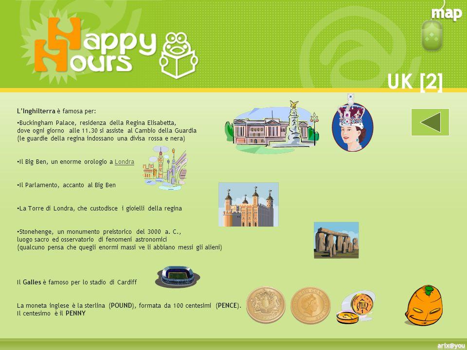 Il Regno Unito di Gran Bretagna è composto da quattro stati: Scotland (Scozia) la cui capitale è Edinburgh (Edinburgo) England (Inghilterra) la cui capitale è London (Londra)Londra Wales (Galles) la cui capitale è Cardiff Northern Ireland (Irlanda del Nord) la cui capitale è Belfast La capitale del Regno Unito è Londra, mentre la bandiera è la Union Jack, nata dallunione delle bandiere locali.