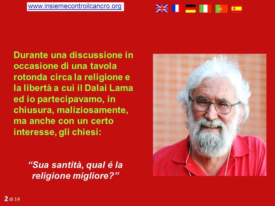 Un breve dialogo tra il teologo brasiliano Leonardo Boff e il Dalai Lama. LUNIVERSO E LECO DELLE NOSTRE AZIONI E PENSIERI Leonardo è uno dei rinnovato