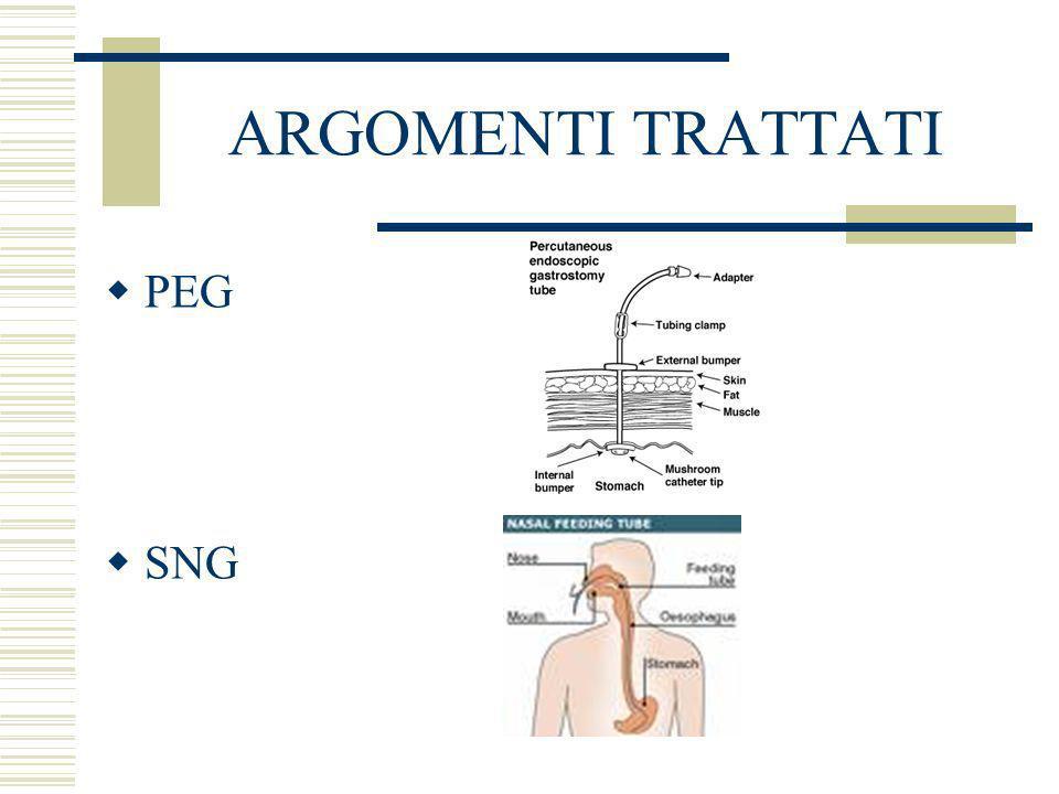PEG Definizione Abbreviazione di Gastrostomia Endoscopica Percutanea