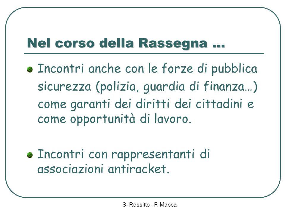 S.Rossitto - F.