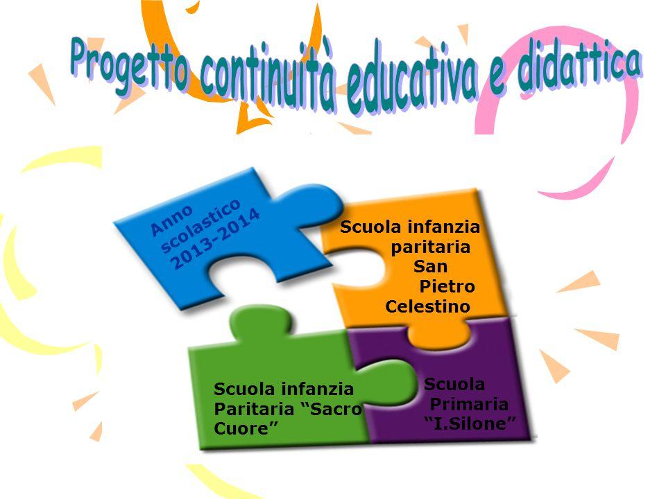 Scuola infanzia paritaria San Pietro Celestino Scuola infanzia Paritaria Sacro Cuore Scuola Primaria I.Silone Anno scolastico 2013-2014