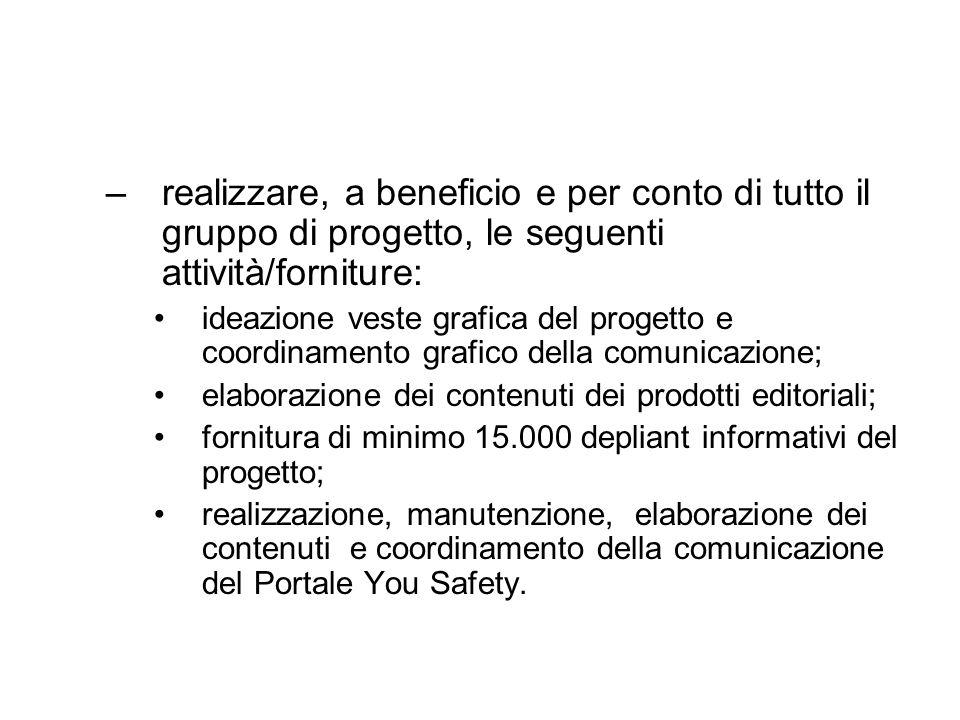 Azione 1 – Presentazione ai mass- media.