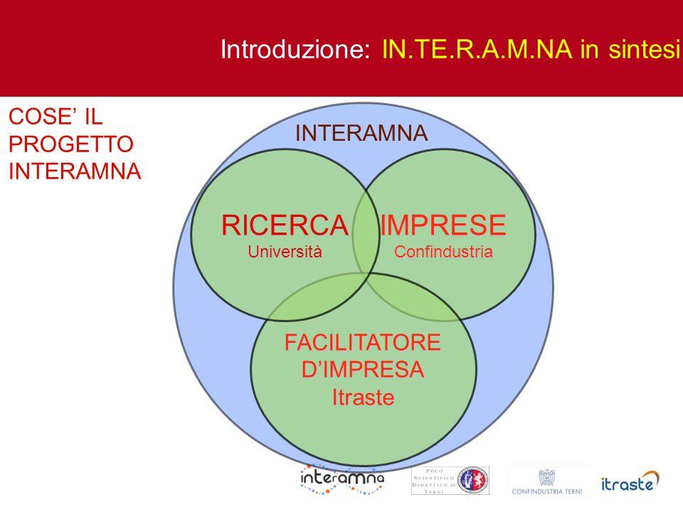 IN.TE.R.A.M.NA:..:: un frutto della presenza collaborativa dell Università..:: Assieme al PUMAS uno strumento per trovare la via di un solido sviluppo Grazie per l attenzione Conclusioni