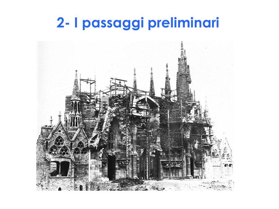 2- I passaggi preliminari